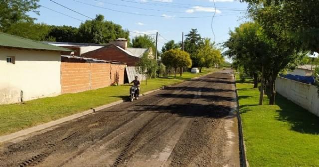 Arreglan calle Cano en Barrio Santa Teresa